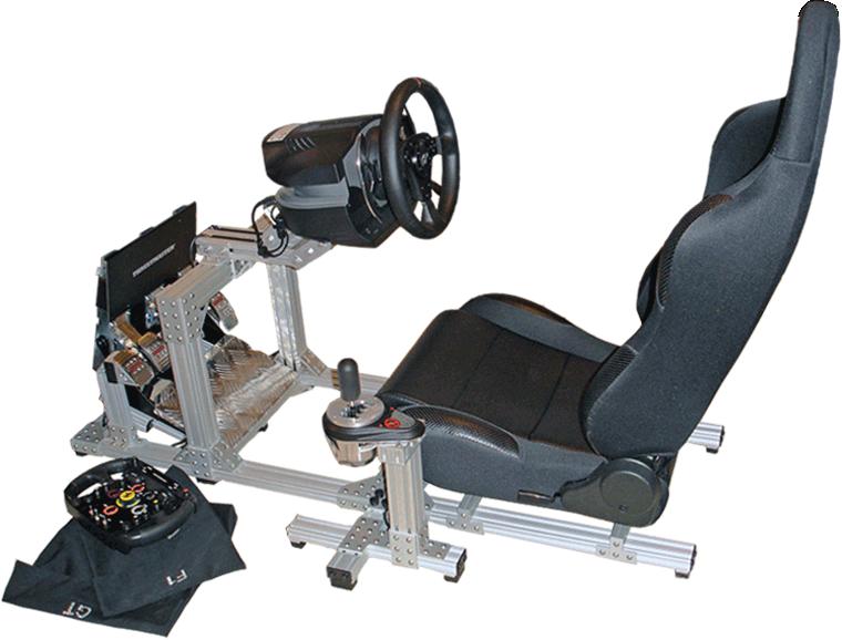 80/20 Inc  - Racing Simulator